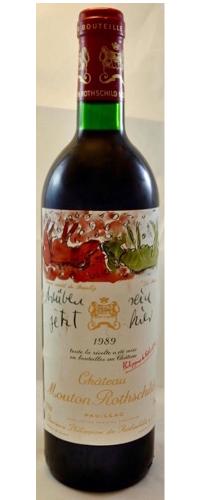 Château Mouton Rothschild 1989