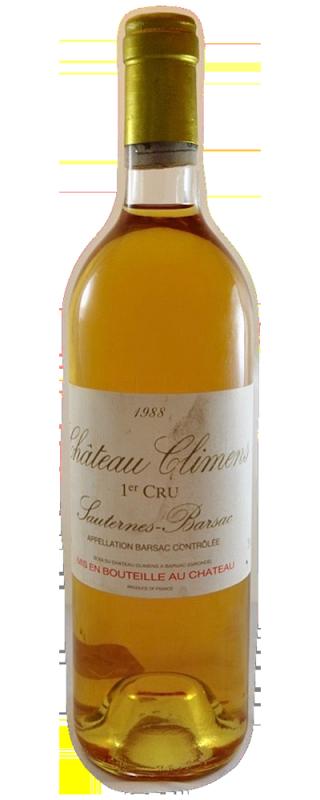 Ch 226 Teau Climens Barsac 1er Cru Class 233 Special Wine