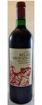Château Belair Monange Saint-Emilion Grand Cru Classé B