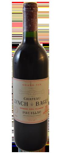 Pauillac Château Lynch Bages 1989