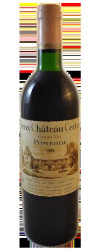 Pomerol Vieux Château Certan 1985