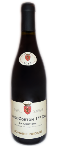 Aloxe-Corton 1er Cru La Coutière Domaine Nudant 2015